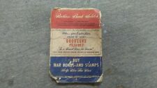 1943 duquesne pilsener brewing pittburgh,pa. world war two ration stamp book