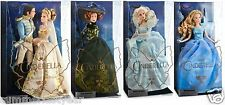 """CINDERELLA "" LIVE ACTION MOVIE ~DISNEY STORE~ COMPLETE FILM COLLECTION DOLL SET"
