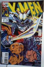 X-MEN 22 Marvel comic VF JUL 1993 An KUBERT modern age 30TH ANNIV INSERT