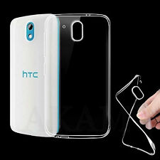 Ultra Slim Soft TPU Silicon Crystal Clear Gel Case Cover For HTC Desire 526G+
