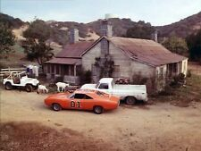 "Dukes of Hazzard 1979 'Uncle Jesses Farmhouse""Classic Photo General Lee"