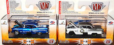 M2 MACHINES DETROIT-MUSCLE SPECIAL 2-CAR SET LIMITED EDITION 1955 CHEVY BEL AIR