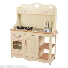 New Kidkraft Wooden Prairie Pretend Play Kitchen