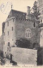 MONT SAINT-MICHEL 33 la maison de Du Guesclin tampon