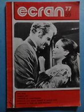 Ecran 77 n° 59 1977 Tom Gries Charlot Juif cinéma