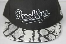 New Era Cap 59FIFTY Brooklyn Dodgers Black Size 7.5 Cooperstown Collection