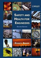 NEW Safety And Health For Engineers by Roger L Brauer
