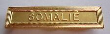 Agrafe barrette SOMALIE  pour médailles militaires.