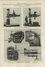 1920 Asquith Radial Drilling Machines Archdale Vertical