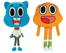 AMAZING WORLD OF GUMBALL 2 PIECE STUFF TOY 8 INCH SET