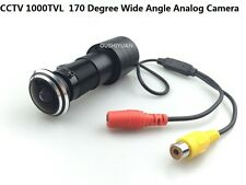 CCTV HD1000TVL 170 Degree Angle Door Fish Eye Hole Peephole Video Color Camera