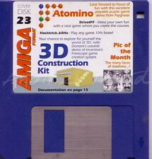 Amiga Format - Magazine Coverdisk 23 - 3D Construction Kit Demo
