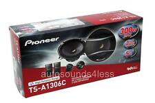 "Pioneer TS-A1306C 150 Watts 5.25"" 2-Way Car Component Speaker System 5-1/4"" New"