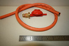 Propane Gas Regulator and Hose, For Camping Stoves  BBQ's, Calor Gas,