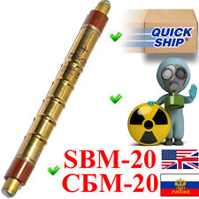 SBM-20 / SBM20 / СБМ-20 (an. STS-5, SI22G) Geiger Muller Tube Counter Tested!