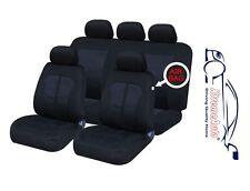 9 PCE Kensington Woven Design Full Set of Car Seat Covers For All Alfa-Romeo