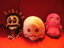 """PACMAN AND THE GHOSTLY ADVENTURES  SOFT TOYS  8 """" - 9""""  APPROX TALL"""