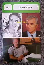 US Pink Panther Three Amigos Comedian Actor Steve Martin French Film Trade Card