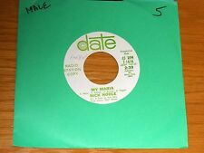 "PROMO POP 45 RPM - NICK NOBLE - DATE 1616 - ""MY MARIA / IT HURTS TO SAY GOODBYE"""