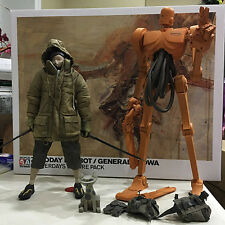 Ashley Wood General Showa + Zero Day Popbot TK ThreeA Kitty 3A Tomorrow King 1/6