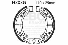 FIT HONDA ATC 125 ME/MG 84 85 EBC FRONT GROOVED BRAKE SHOES