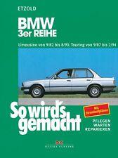 WERKSTATTHANDBUCH REPARATURANLEITUNG SO WIRD´S WIRDS GEMACHT 58 BMW 3er REIHE