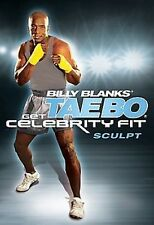 Billy Blanks GET CELEBRITY FIT SCULPT (DVD) tae bo workout cardio SEALED NEW