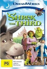 SHREK THE THIRD (3) : NEW DVD