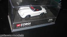 CORGI CLASSIC 1/43 PORSCHE 356 SOFT TOP UP WHITE    (03701)