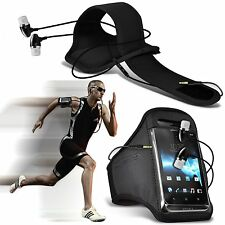 Sports Gym Fitness Armband Case Cover & Handsfree For Motorola RAZR XT910