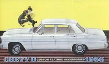 1966 Chevrolet Chevy II Nova Sales Brochure Literature Book Specifications