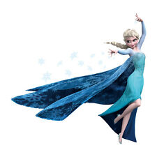 Disney Frozen Elsa & Snow Flakes-Wall Decals removable Craft stickers-US Seller