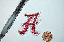 """Alabama Crimson Tide 2"""" Secondary Logo 1976-2000 """"A"""" Logo Patch College"""