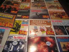 THE FIREBALLS VERSUS THE VENTURES Color Vinyl 20 LP SET SOME SELL OF $200 EACH
