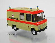 """Brekina 36900 Mercedes Benz L 508 Rettungswagen RTW """" DRK """" von Starmada"""