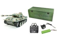 RC Panzer Panther Schuss, Rauch und Sound 2.4 GHz AMEWI QC Control Edition 23060
