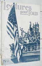 LECTURE POUR TOUS OCTOBRE 1918 GUERRE 14-18 USA YANKS ESPION KAISER URSS CAMP PG