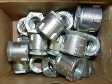 "LOT OF 25 NEW THOMAS & BETTS 675 1/2"" ERICKSON COUPLING FOR RIGID METAL CONDUIT"