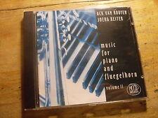 Ack Van Rooyen Joerg Reiter Music for Piano and Fluegelhorn 2 [CD Album] Klavier