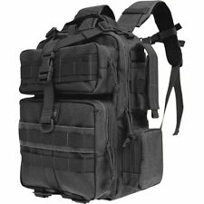 Black Typhoon Every-Day-Carry Outdoor Backpack, Camp Hike Hunt Tactical Day Pack