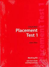 OXFORD PLACEMENT TEST 1: Marking Kit / DAVE ALLAN @BRAND NEW, SEALED@