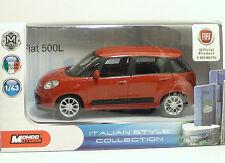 MondoMotors FIAT 500L - METAL Scala 1:43