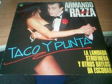 LP ARMANDO DE RAZZA TACO Y PUNTA FONIT CETRA LPX 255 VG/VG ITALY PS 1990 LSG