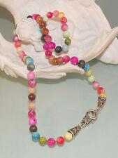 ♥ Dream-Pearls fröhlich bunte Halskette aus Perlmutt Perlen ♥ HK122