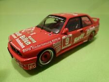 MINICHAMPS BMW M3 E30 - RUDY BILLEN RACING No 9 - RED1:43 - GOOD CCONDITION