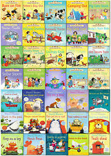 Usborne Early School Reading Collection 35 Children Books Set Farmyard Phonics