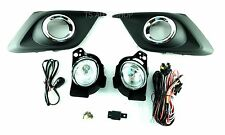 Set Kits Fog Lamp Spot Lights For Mazda3 Mazda 3 4-5dr Sedan Hatchback 2015-2016
