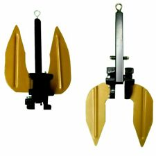 Heavy Duty WEED PROOF Boat & Pontoon Fluke Digger Anchor Small - Large