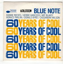 (GX389) 60 Years Of Cool, 6 tracks various artists - 1999 The Observer CD