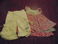 NAARTJIE KIDS 6-12 GORGEOUS FLORAL DRESS  CAPRI SET